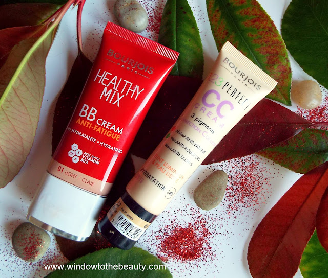 Bourjois bb and cc cream review