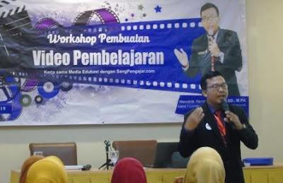 Salut dengan Totalitas Tim Media Edukasi, Hendrik Hermawan dkk