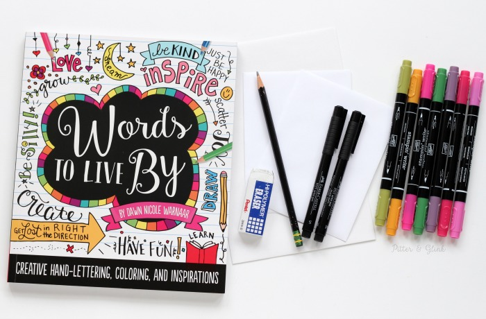 Happier Happy Mail: A Project from Dawn Nicole Warnaar's Words to Live By | pitterandglink.com