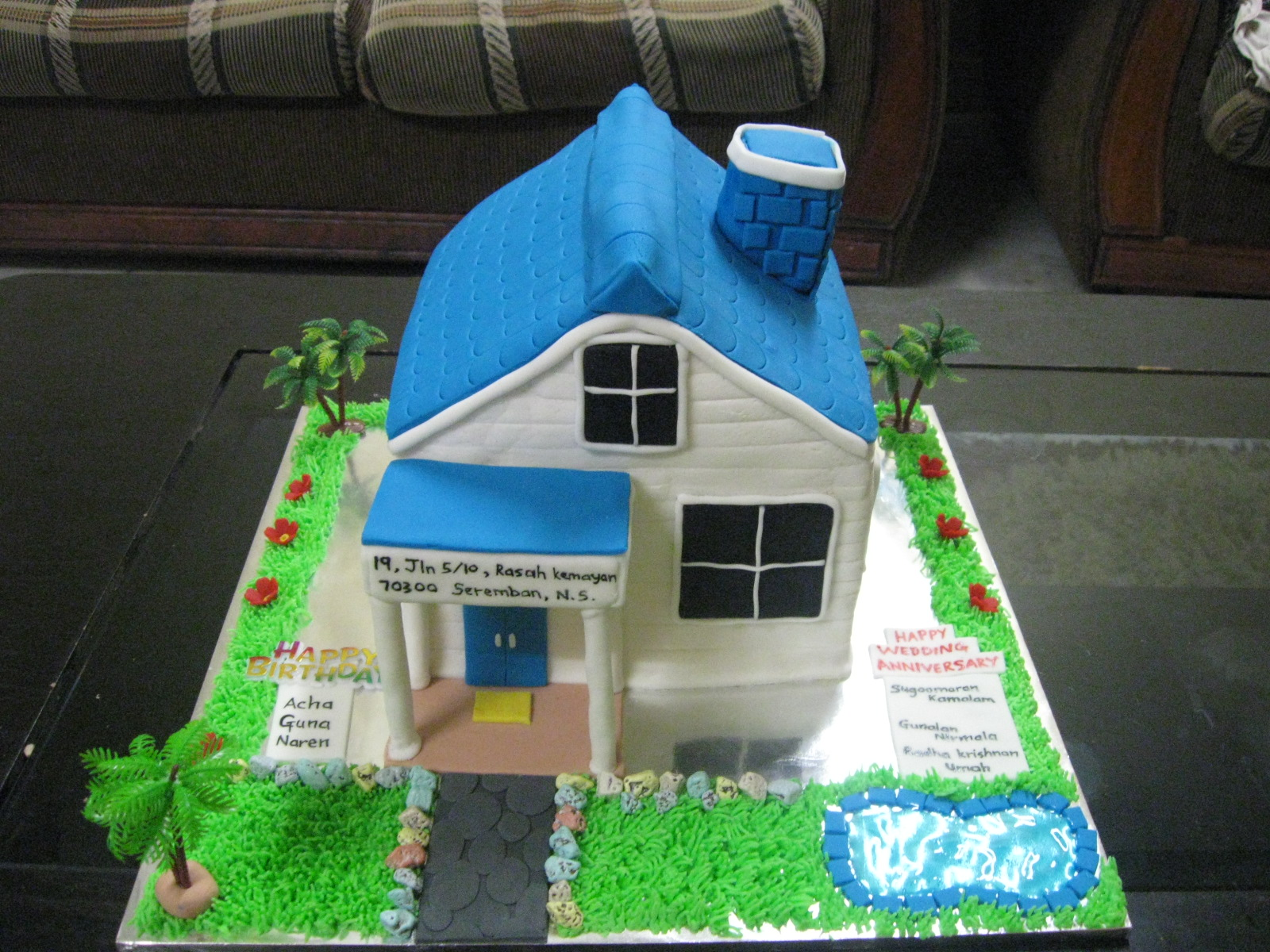 Cakes & Cupcakes For All Occasions House Cake