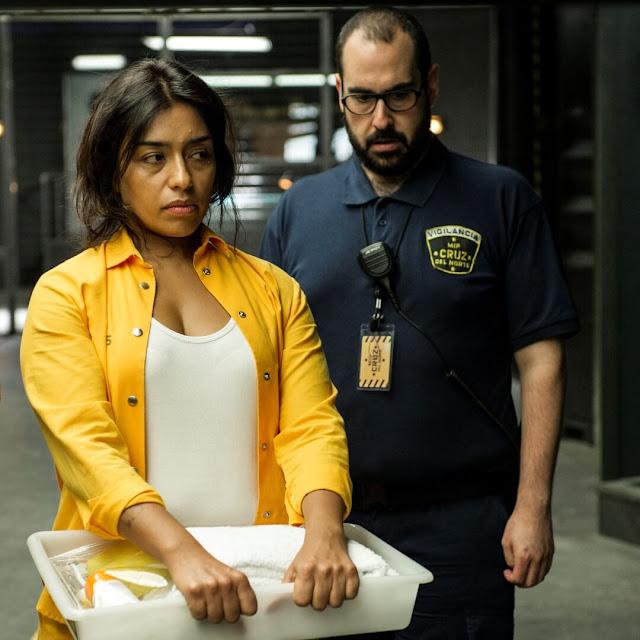 Altagracia (Adriana Paz) & Palacios (Alberto Velasco) en la 4ª Temporada de 'Vis a Vis'