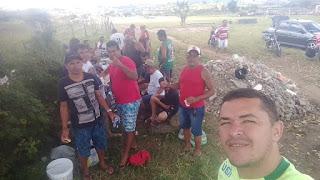 Amigos se reuniram para celebrar aniversario do desportista Cuca com partida de futebol