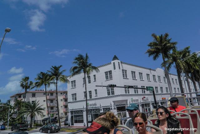 Ônibus hop-on hop-off em Miami e Miami Beach