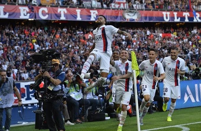 Xingado do início ao fim, Neymar faz golaço e garante vitória do PSG