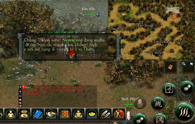 Nhiệm vụ Xuất Sư Game Võ lâm JX1 Efunvn Mobile 2