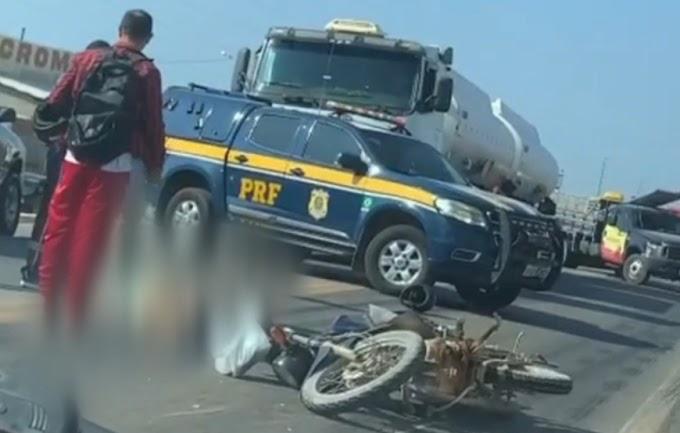 Idoso de 74 anos morre vitima de acidente de trânsito na BR 304 em Mossoró