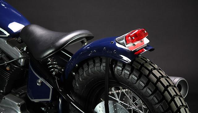 Harley Davidson XL883 By Gleaming Works Hell Kustom
