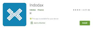 Bagaimana Mendaftar melalui Aplikasi Indodax dan Verifikasi Akun