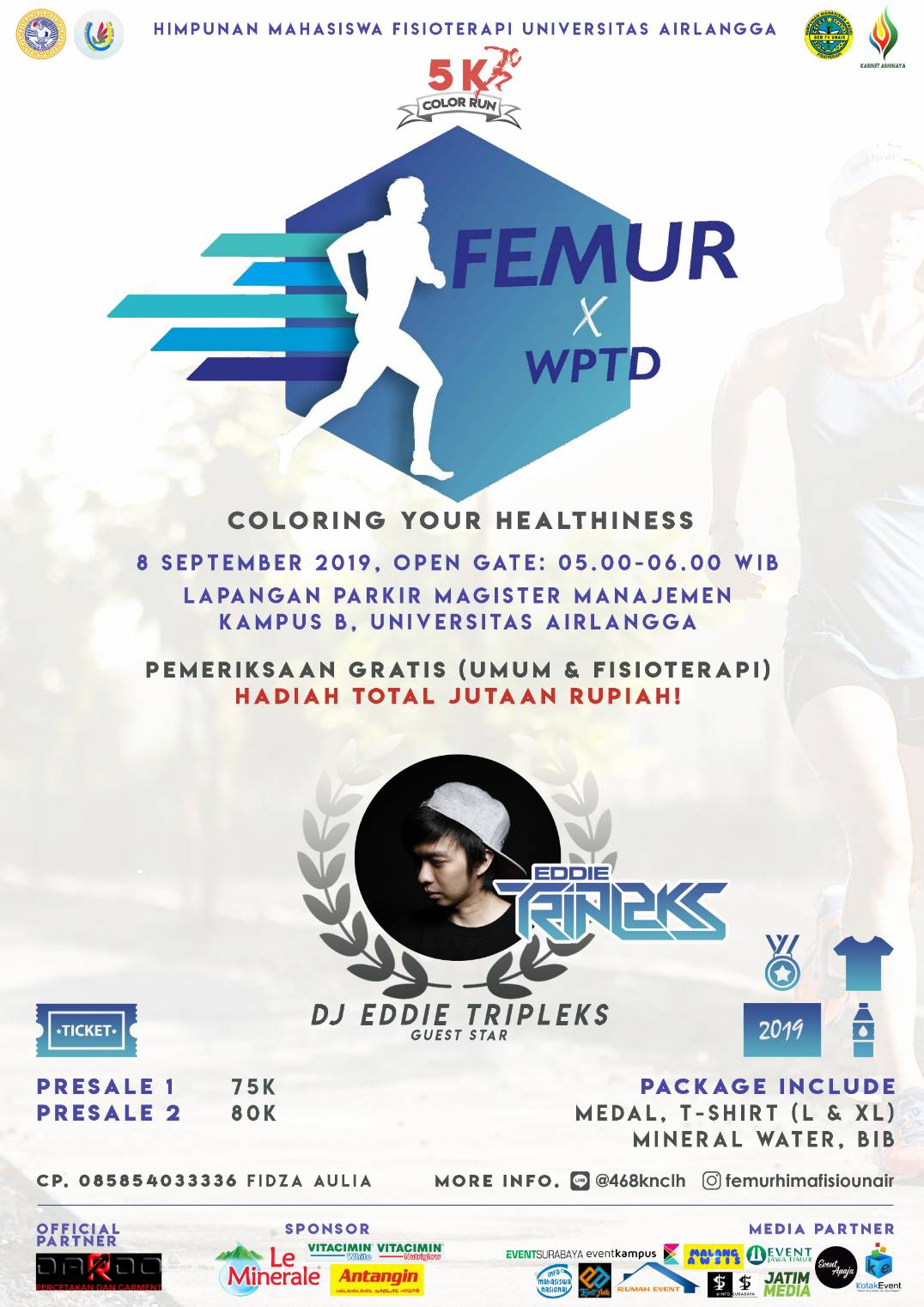 Fun Run - FEMUR X WPTD (World Physical Therapy Day) • 2019