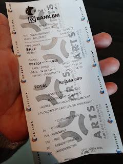 Tiket kereta bandara