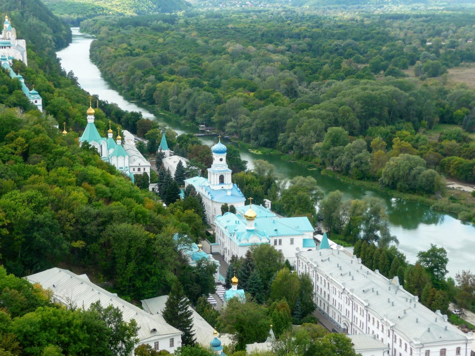 Враження від подорожей: Святогірськ. Історико-архітектурний заповідник