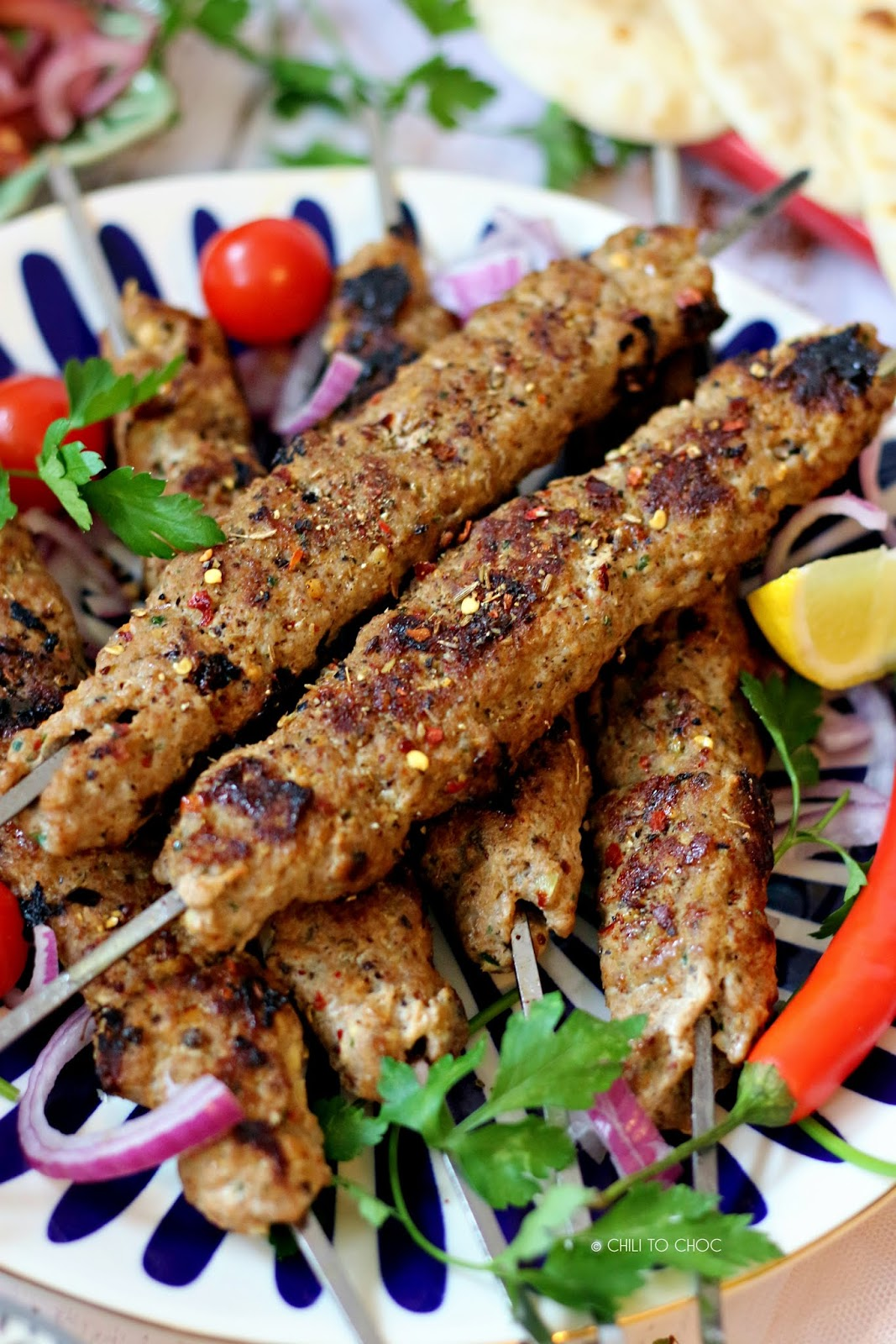 Adana Kebab (Turkish Ground Meat Kebab)
