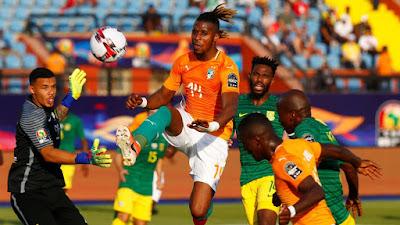 مشاهدة مباراة كوت ديفوار وجنوب افريقيا بث مباشر اليوم 12-11-2019 في بطولة افريقيا تحت 23 عام