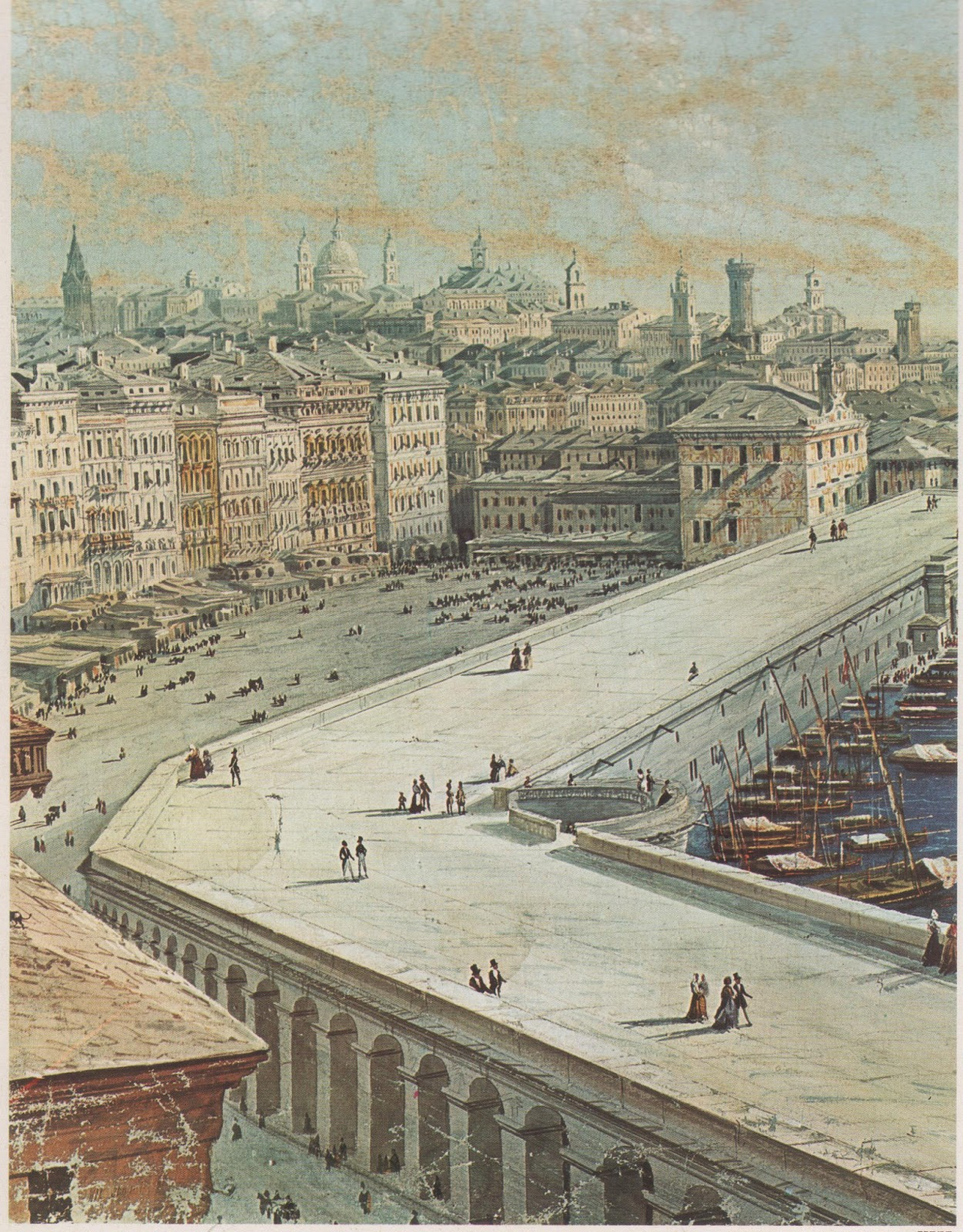 CERA UNA VOLTA GENOVA  Genova  Il Porto dal 1800 al 1850