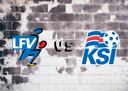 Liechtenstein vs Islandia  Resumen