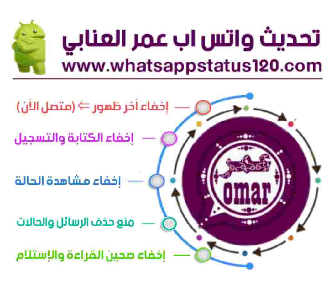 تنزيل واتساب عمر العنابي آخر إصدار من الموقع الرسمي OBWhatsApp التحديث الأخير برابط مباشر