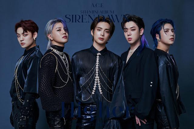 A.C.E de k-pop hacen comeback con siren:dawn