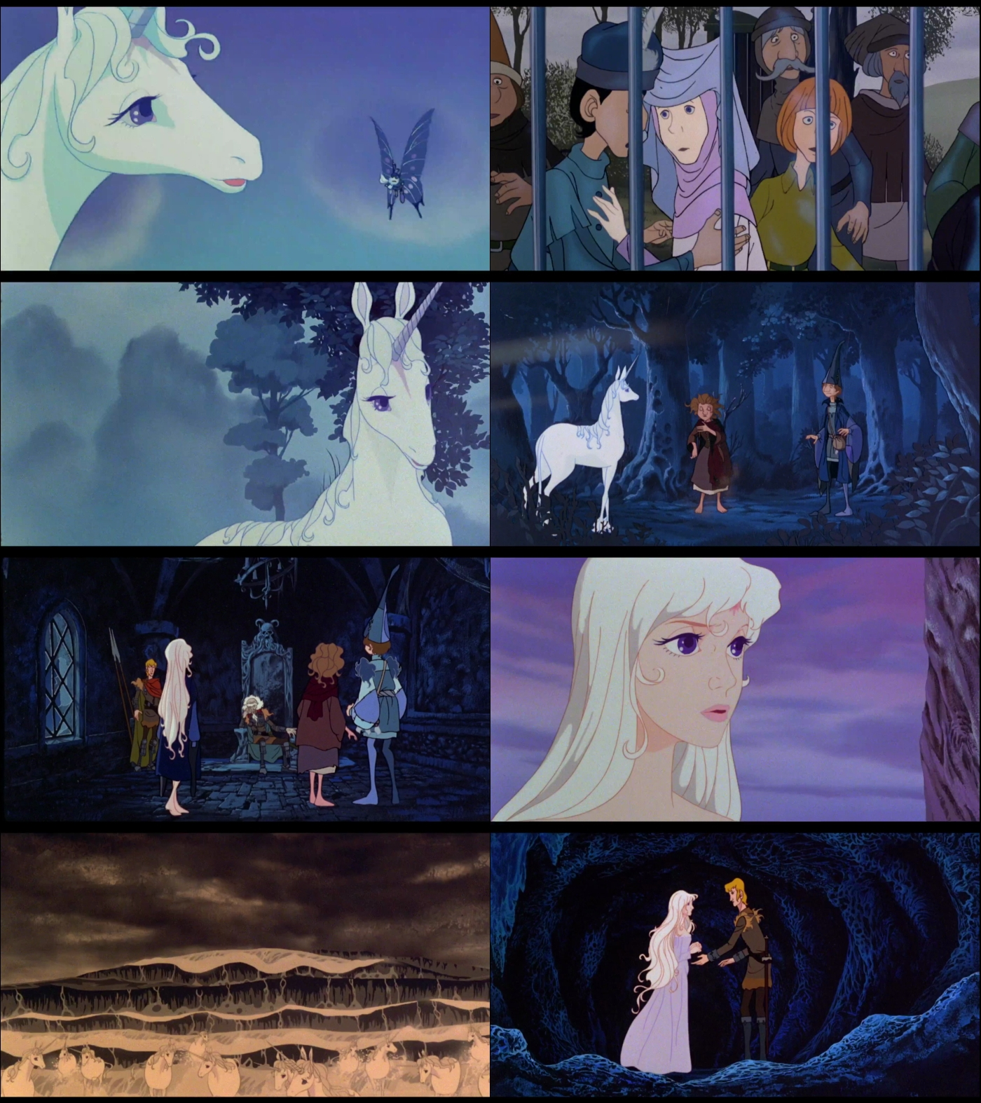El ultimo unicornio 1080p Latino