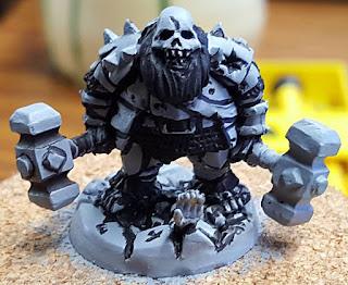 WIP :: Stonehaven Miniatures :: Undead Dwarf