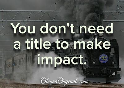How to make impact in life, at work or business - motivational quote