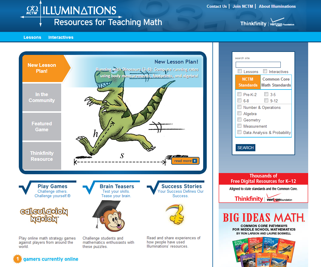 Learning Never Stops 6 More Math Websites To Be