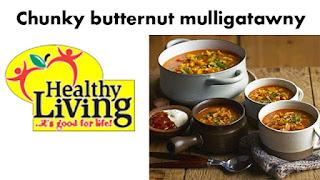 Chunky butternut mulligatawny