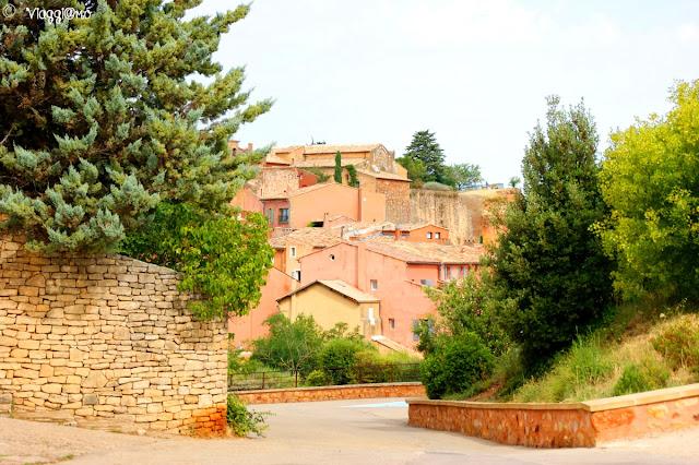 Vista del villaggio e dei suoi colori