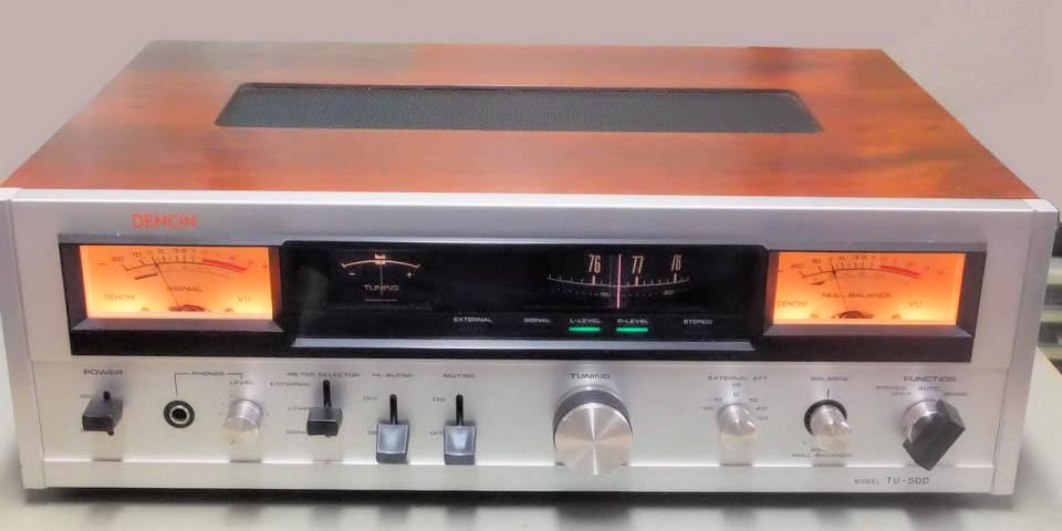 まいまいこん: DENON TU-500 FM...