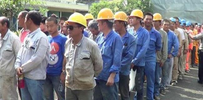 Datangkan 500 Pekerja China Lukai Hati Pekerja Yang Di-PHK
