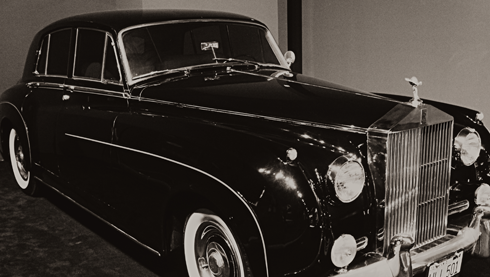 Elvis 1960 Rolls Royce Phantom