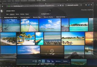 Cómo hacer una captura de pantalla personalizada en la Mac.