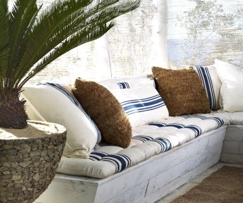 Ralph Lauren Home -Chic Seaside in Blue and White - Coastal ... on luxe home interiors, victoria beckham house interiors, andrew carnegie house interiors, bill gates house interiors, private island house interiors, celine dion house interiors,