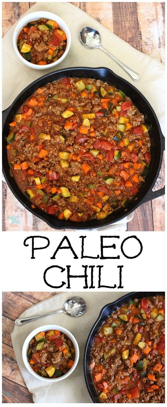 All Meat Veggie Chili