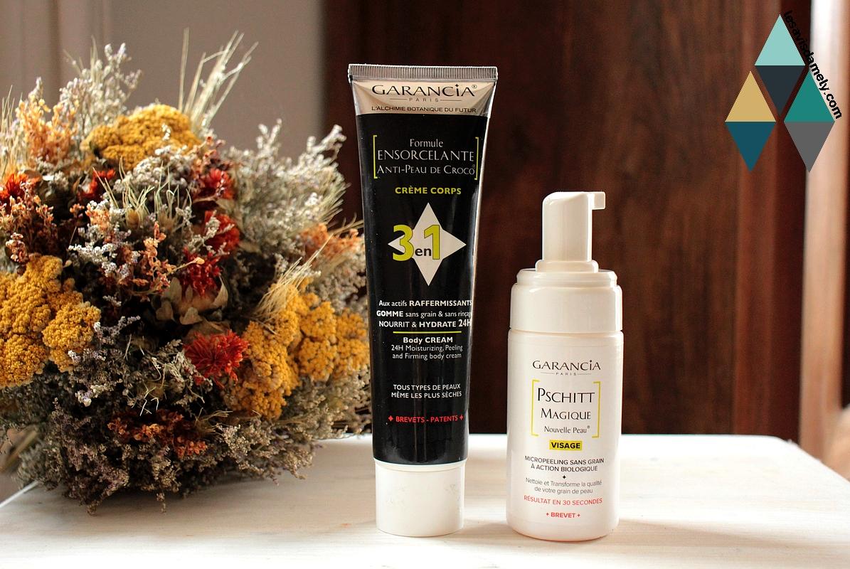 avis et test routine beauté garancia soin naturel