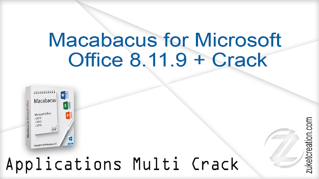 Macabacus for Microsoft Office 8.11.9 + Crack   |  42.2 MB
