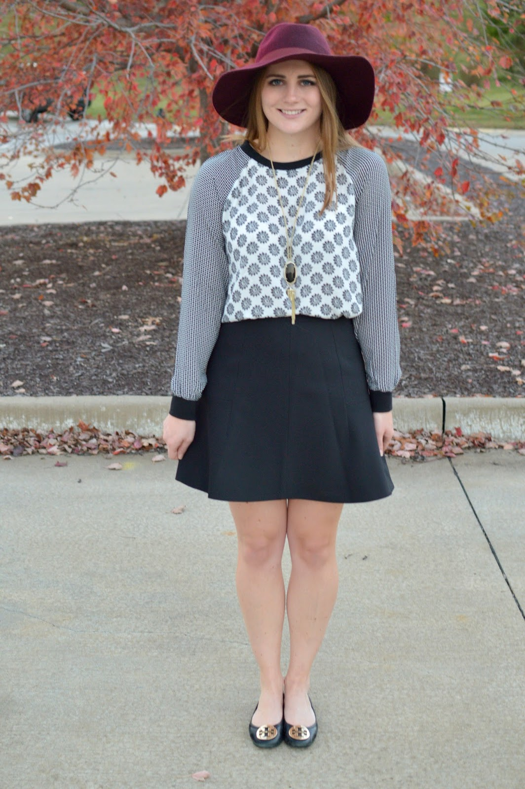 black and white outfit ideas