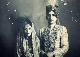 Nawab Iftikhar Ali Khan Pataudi with wife