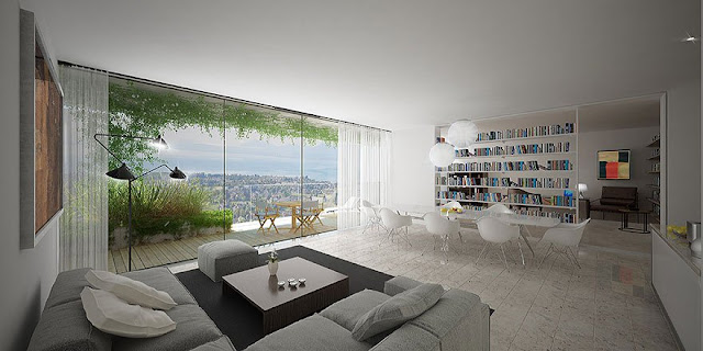 green city 綠建築設計:這棟建築物將擁有超過24,000株的綠色植物