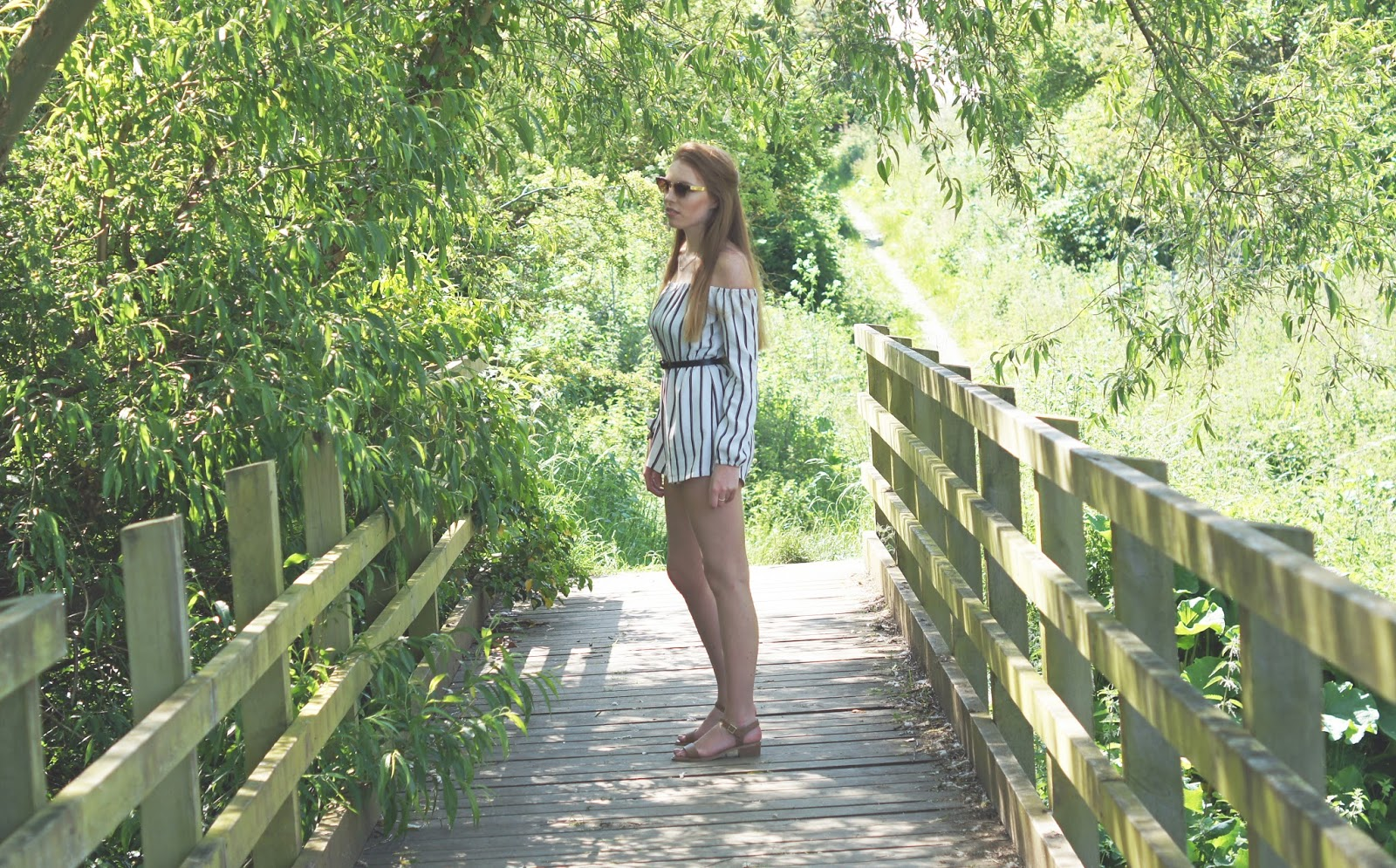misguided black and white playsuit