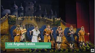 """Presentación con Letra Comparsa """"Los Ángeles Caídos"""" de Jc Aragón (2002)"""