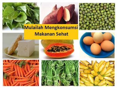 Konsumsi makanan sehat untuk meningkatkan daya ingat