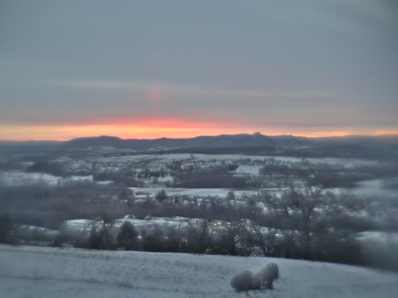 Bild der Woche #56 (KW03/2021) – Bild des Tages #22 — Noch vor Sonnenaufgang