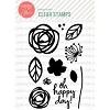 Essentials by Ellen Bold Blooms stamp set