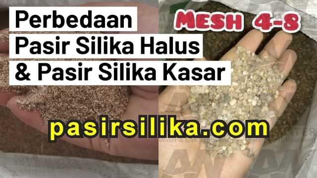 perbedaan pasir silika halus dan pasir silika kasar, harga pasir silika halus, jual pasir silika kasar