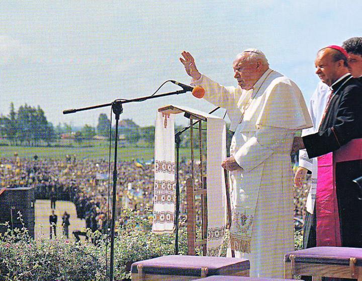 Іван Павло ІІ в Україні