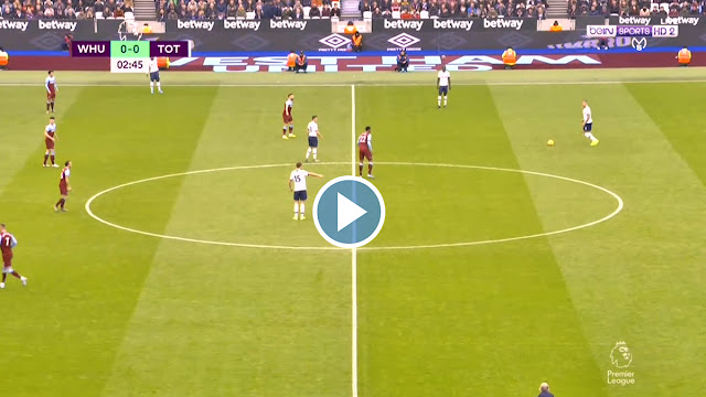 West Ham United vs Tottenham Live Score