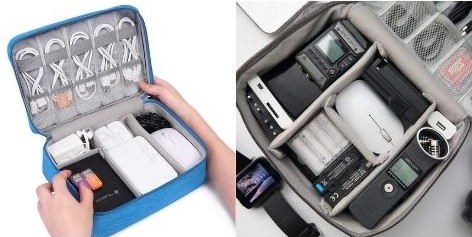 Electronics Accessories Organizer Bag