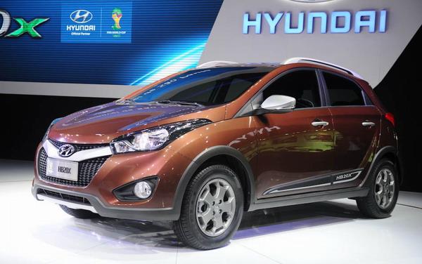 2013 Hyundai HB20X Exterior Design