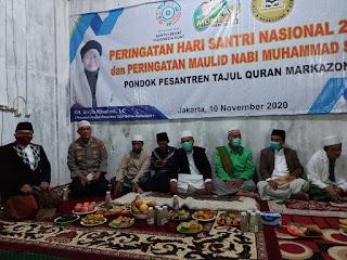 Hadir  Pada Acara Peringatan Hati Santri Nasional dan Peringatan Maulid Nabi Muhammad SAW