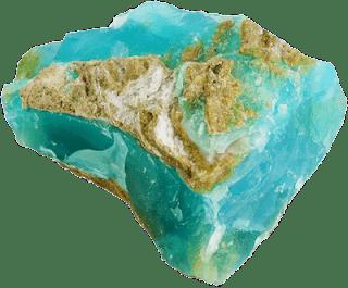 opalo azul andino en bruto - piedra nacional del peru - foro de minerales